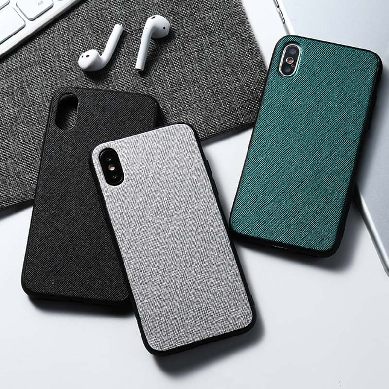 Luxury Shockproof Fabric Cases For Huawei P30 Lite P20 Pro P10 Plus Case Cover Cloth Texture For Huawei Honor 8X MAX V10 V20