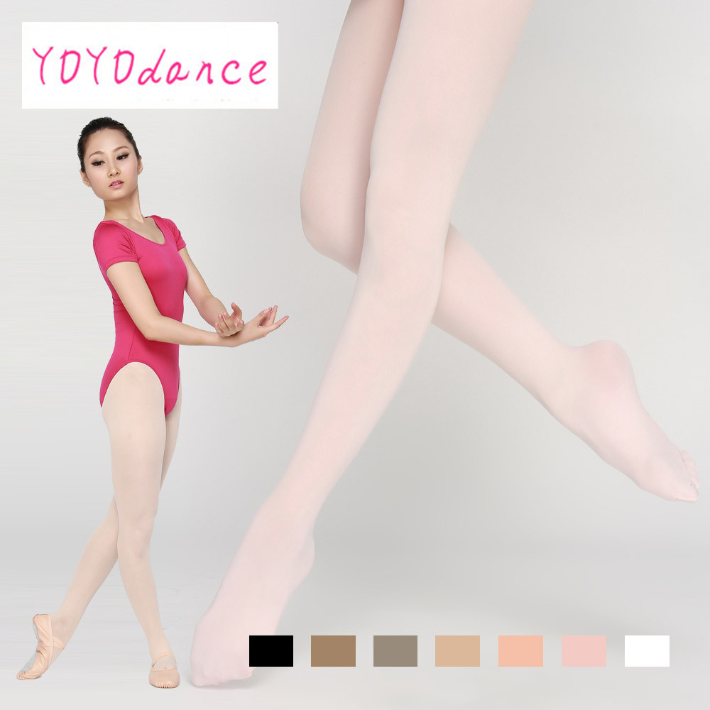 New Arrival Quality Sexy Full Foot Women's Long Stockings Thin Tights Highly Fashionable Dance Tights Pure Color Pantyhose 4819