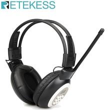 RETEKESS TR101 FM Headphone Radio Receiver Wireless Headset Radio Earphone Receiver For Conference Simultaneous Interpretation