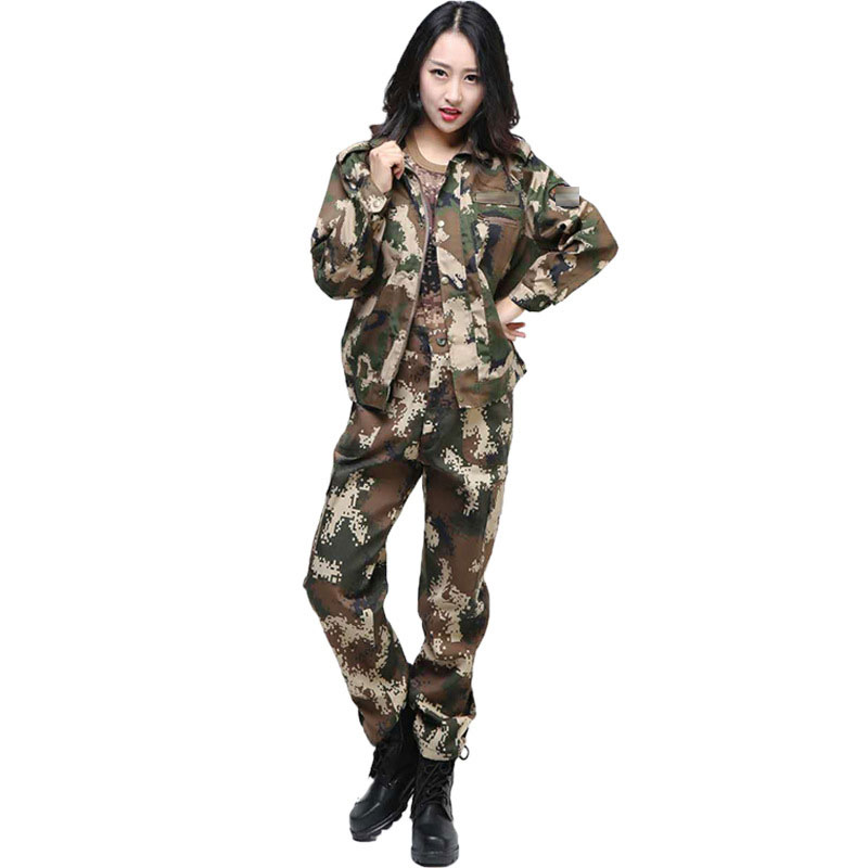 Image 3 - Jungle Camouflage Suit Mens Outdoor Training Uniforms Students Military Training Uniforms Special Mens Wear Labor InsuranceSafety Clothing   -
