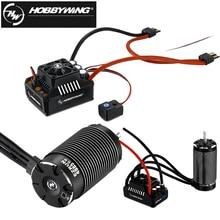 HobbyWing EZRUN SL 4985 1650KV/5687 1100KV 4 pole Sensorless Brushless Motor with MAX6 160A waterproof ESC for 1/6 1/7 RC car