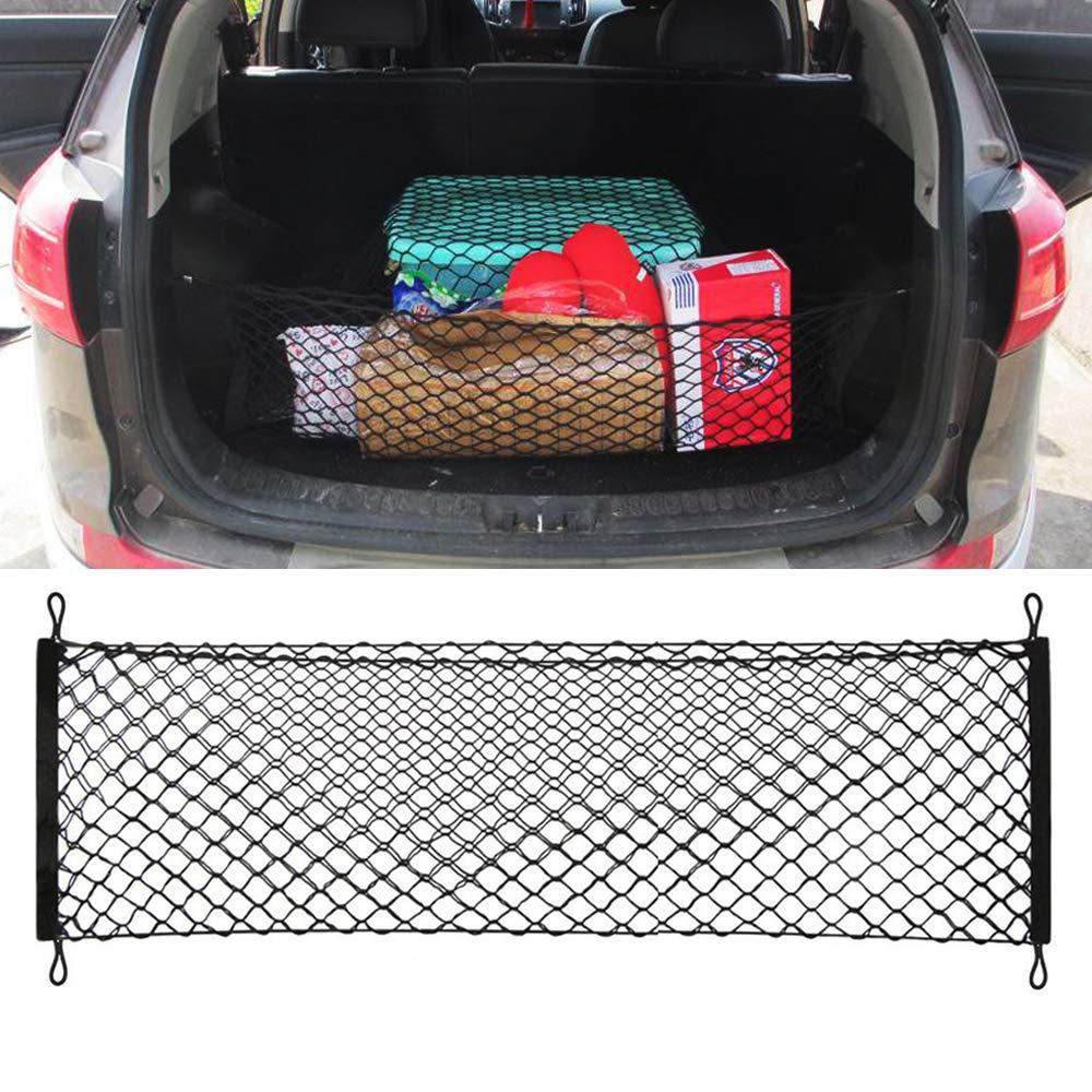 Car Storage Boot Elastic Bungee Hook Fixing Cargo Mesh Spider Net
