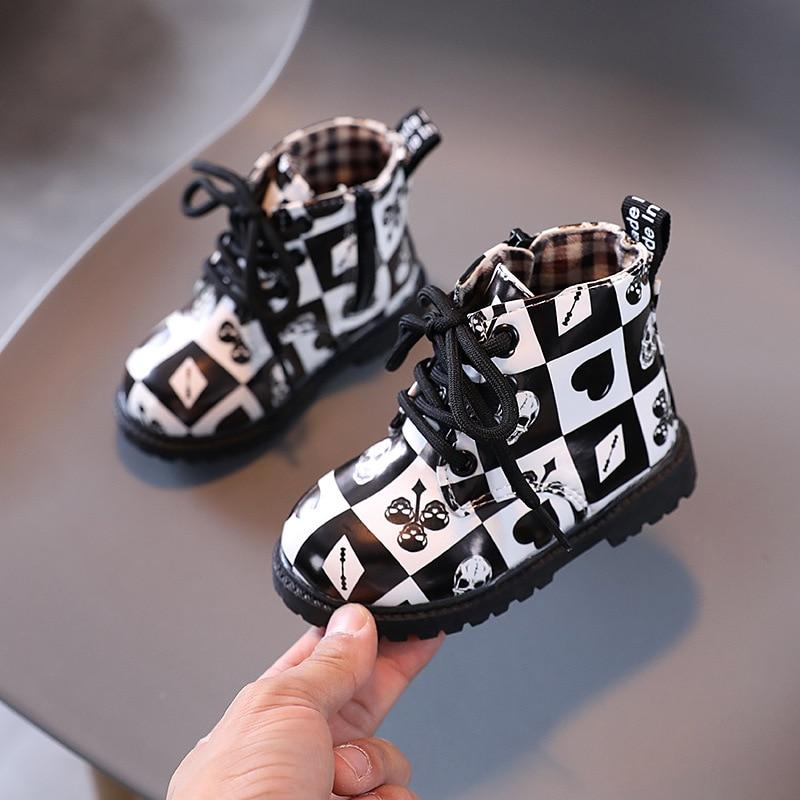 botas infantis novo estilo botas para meninas 01