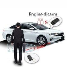 RFID Engine Lock W/ Circuit Cut Alarm Inmoviliza For DC 12V vehicles RF 2.4Ghz