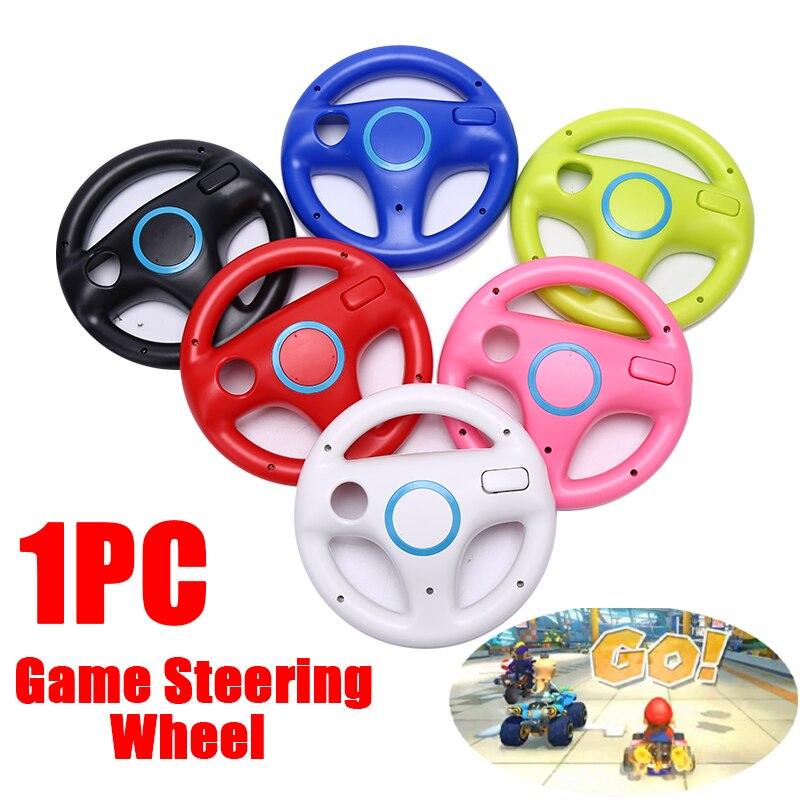 1 pièces Kart jeux de roue de course volant pour Wii contrôleur de jeu à distance