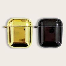 Золотистый Черный Гладкий Полировочный жесткий стикер apple
