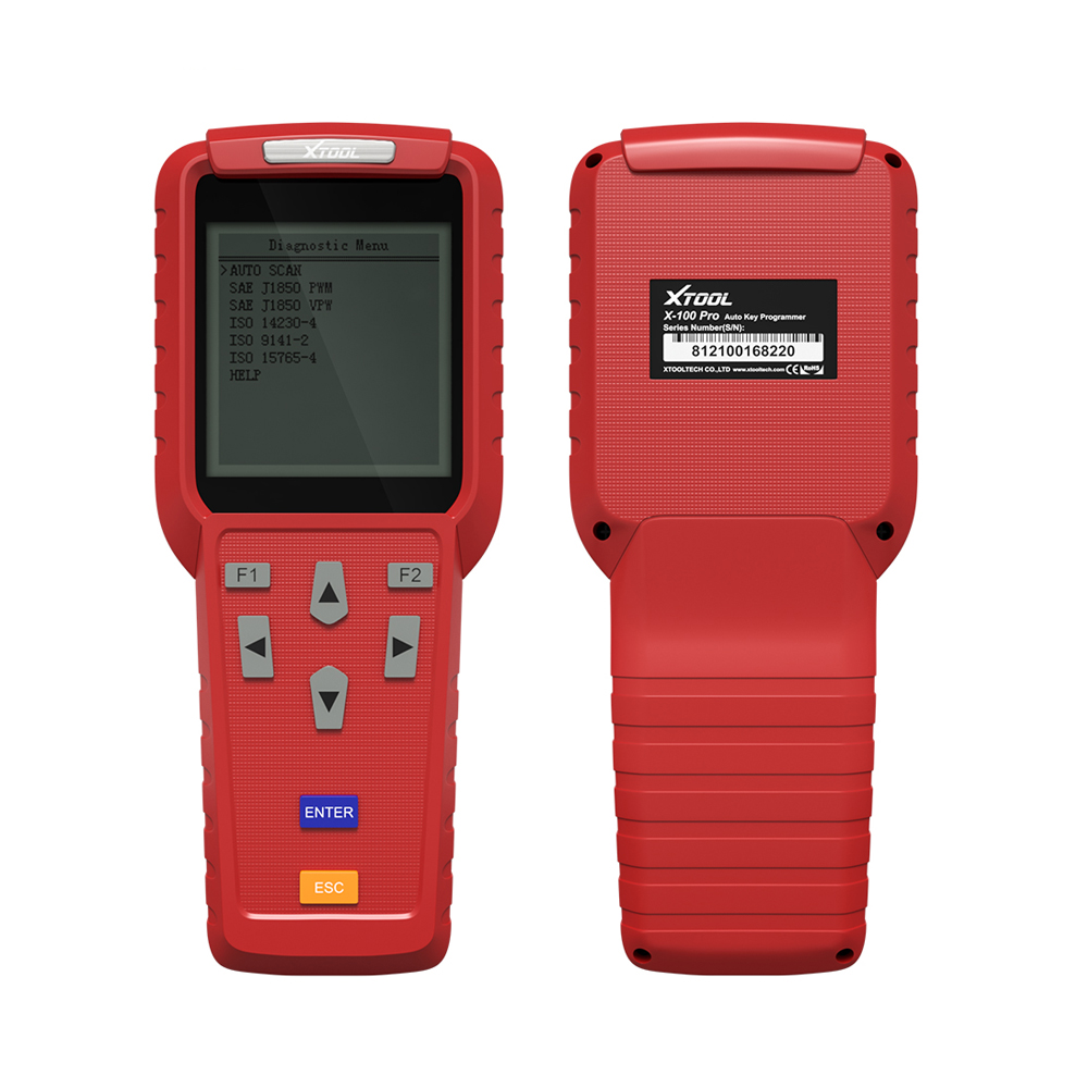 [XTOOL Distributor] Xtool X100 PRO Auto Key Programmer Diagnostic Tool OBD2 X100+Updated Version With EEPROM Code Reader Adapter