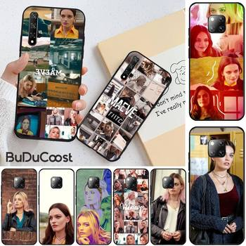Emma Mackey Maeve Wiley DIY phone Case cover Shell for huawei honor 10i 8x 8 9 10 lite view 10 20 image