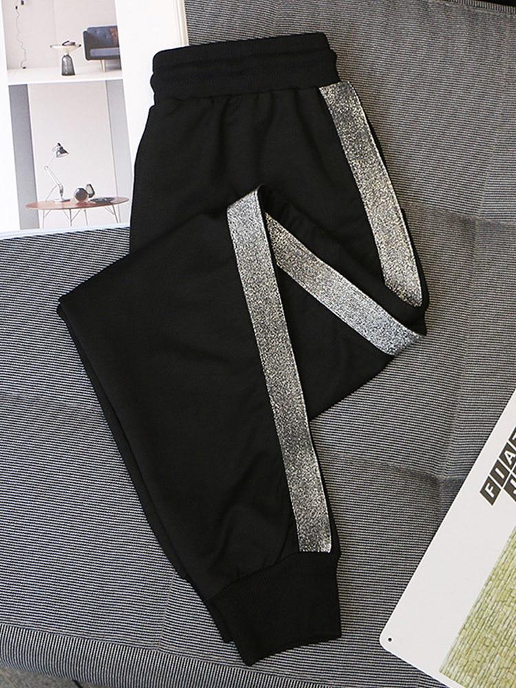 Trousers Harem-Pants Loose Korean-Version Casual Plus-Size 5xl Women Ladies' Elastic-Waist