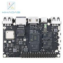 Khadas vim1 placa demo básica, amlogic s905x quad core, braço 64bit Cortex-A53 wifi ap6212 sbc
