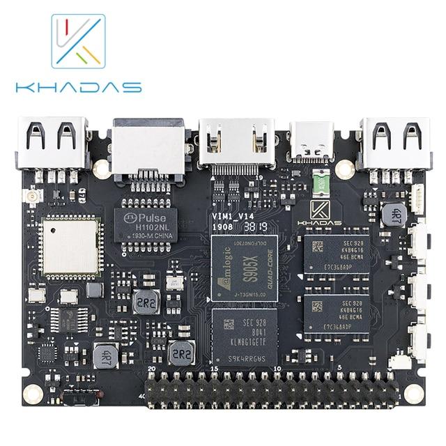 Khadas VIM1 Basic Demo Board Amlogic S905X Quad Core ARM 64bit Cortex A53 WiFi AP6212 SBC