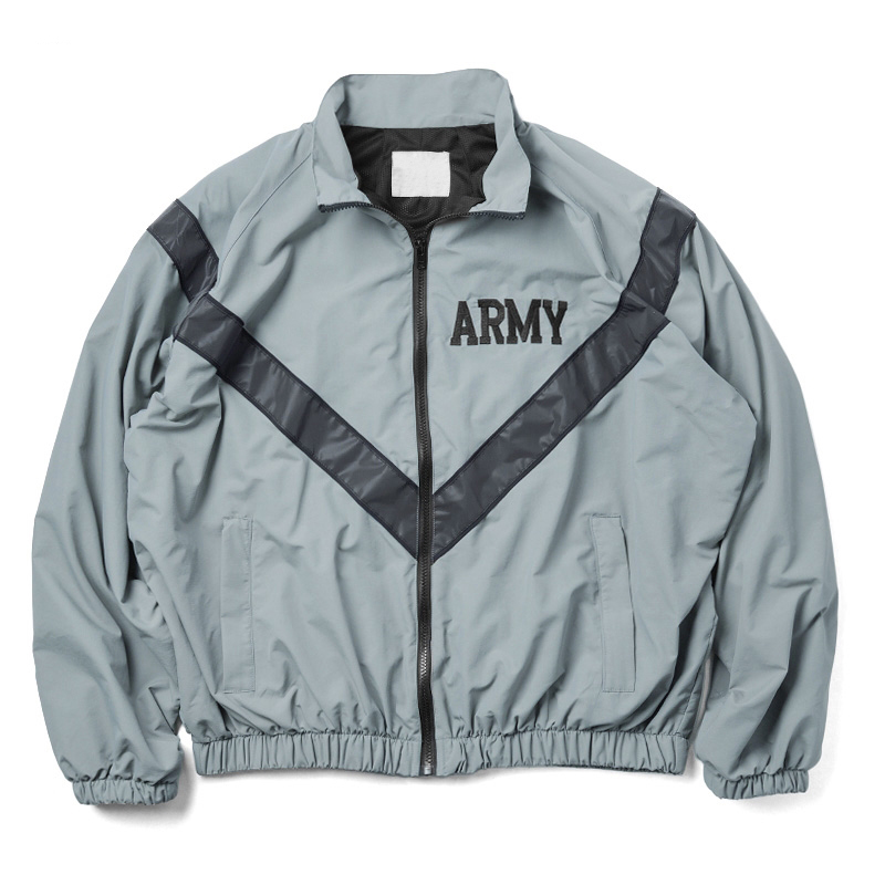 Over sized US Army Improved Physical Fitness Uniform Reflective PT Jacket Windproof Water Resistant Outwear IPFU Training Jacket