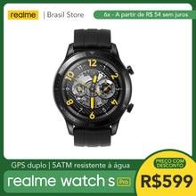Realme Uhr S Pro - Dual GPS | 5ATM Wasserdicht | 1.39