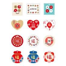 Gift-Box-Accessories Kraft-Paper Mini-Card White DIY Custom Hanging-Pieces Retro-Labels