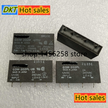 10PCS G3M 202PL US 12VDC 12V Solid State 4 pin 2A