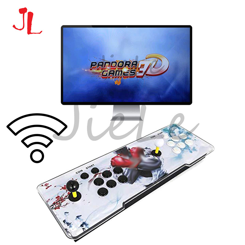 Pandora Box 3D Arcade Box 2448 In 1 Wifi Version No Delay Joystick Copy Sanwa Buttons PCB Controller Retro Arcade Console