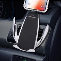 Wireless Car Charger, Wireless Car Charger Phone Holder Car Vent Mount Gravity Sensor 360Rotating