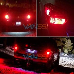 Image 5 - VANSSI 2pcs T20 W21/5W 7443 ha condotto la lampadina per LADA Vesta Granta Kalina anteriore DRL DHO luce 7443 SRCK ha condotto la luce bianca rossa DC12 24V