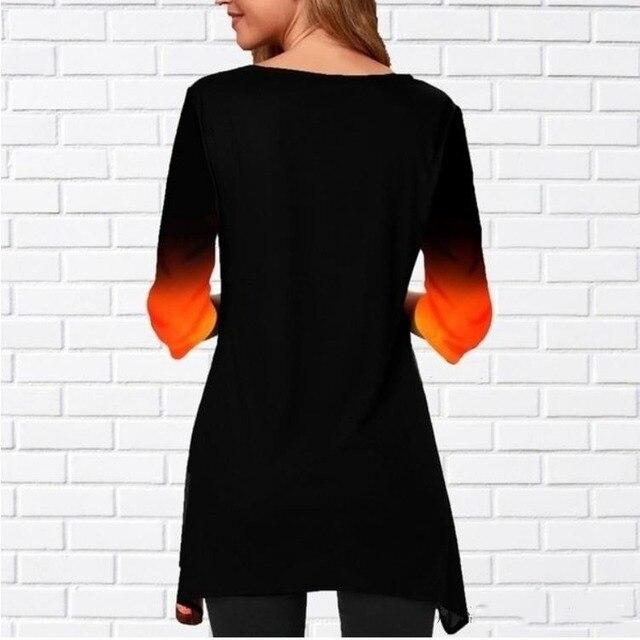 Women Shirt Plus Size Milk-silk  Spring Color 3
