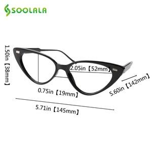 Image 5 - SOOLALA Cat Eye Reading Glasses Women Lesebrille Presbyopic Reading Glasses For Sight 1.0 1.25 1.5 1.75 to 4.0 Glasses Diopter