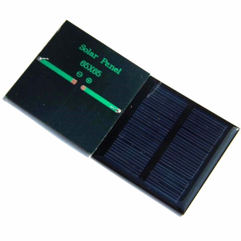 Solar Panels 5.5v 90mA 0.6W Mini Solar Cell 65x65MM For Small Power Appliances 5pcs/lot Epoxy Shipping Free Shipping