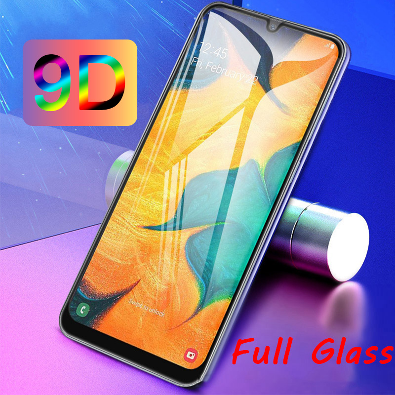 9D Protective Glass For Samsung Galaxy A50 A60 A70 A80 A90 Sensitive Smooth Screen Protector For Galaxy A40 A30 A20e A10