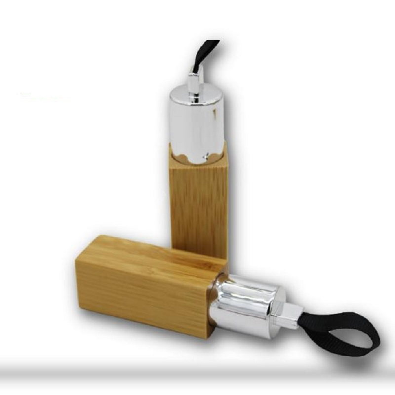 Пустая квадратная трубка для губной Помады Косметический контейнер 12,1 мм бамбуковый деревянный бальзам для губ Бамбуковый Контейнер для б
