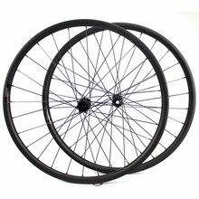 ELITE ruedas de carbono para bicicleta de montaña, 29 Novatec D411, juego de ruedas rectas con cubo de tracción, 29er, 30mm de ancho