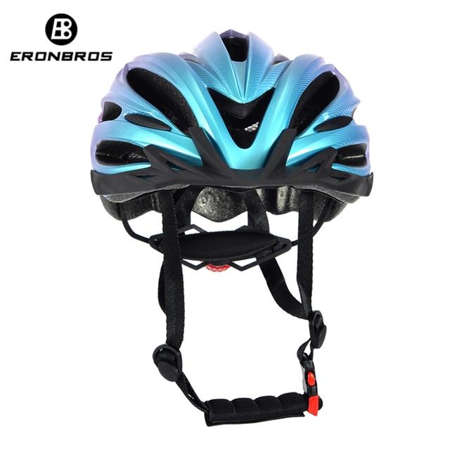 Bicicleta de montanha capacete com luz led vermelho e viseira de sol das mulheres dos homens leve estrada ciclismo capacete da bicicleta esportes equipamentos 2