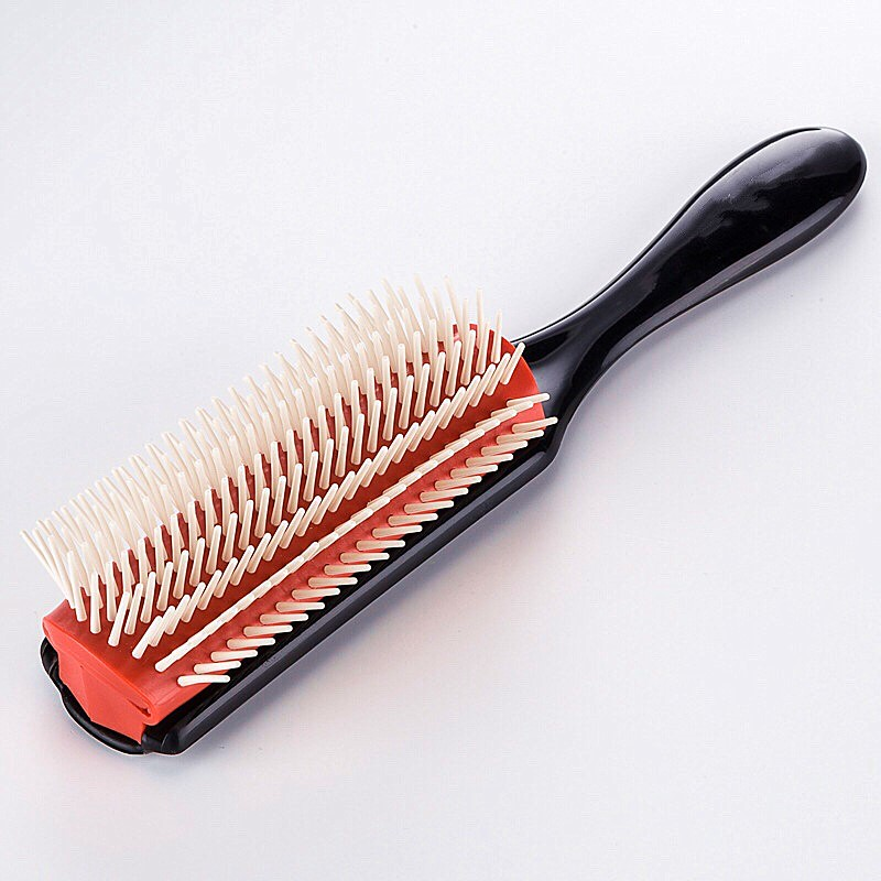 1PC Soft Hair Styling Brush Wheat Straw Detangle Hairbrush Salon Hairdressing Straight Curly Hair Comb Tangle Women Hair Brush