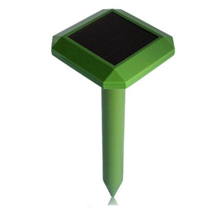 Solar Repellent Repeller Led Lights Plug In The Snake Garden Outdoor Animal Drive