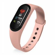 New Smart Band Wristband Health Heart rate Blood Pressure Heakth Rate Monitor Pedometer Sports Bracelet PK M3 band Dropshipping(China)
