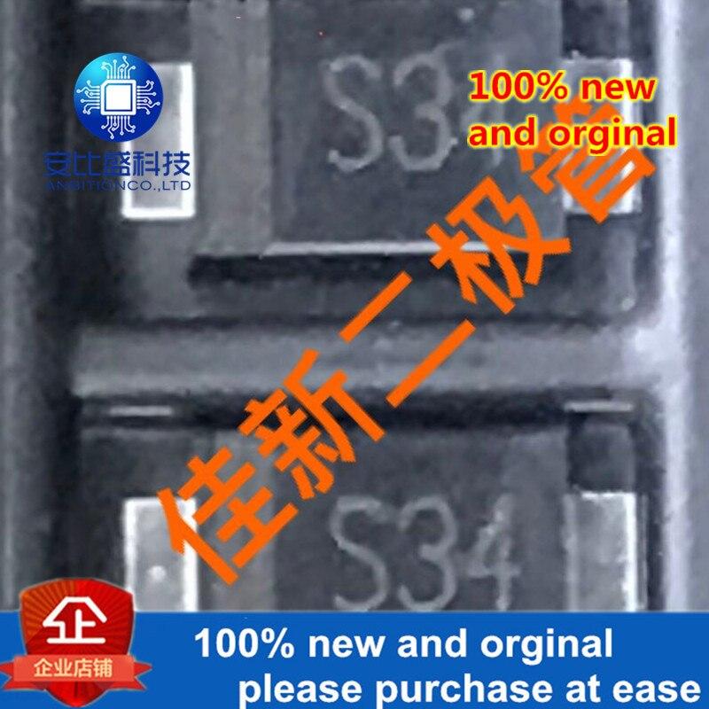 50pcs 100% New And Orginal  B340AF SM340AF 3A40V Low-pressure Schottky Diode SMAF Silk-screen S34 In Stock