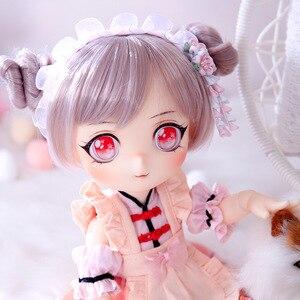 Модель BJD Lotus Doll1/6, кукла для мальчиков и девочек, полный комплект игрушек для детей, подарки для друзей, сюрприз для девочки, рождественский п...
