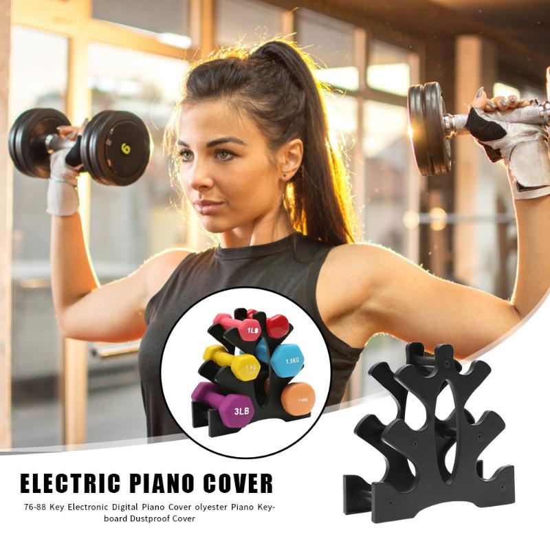 Weightlifting Dumbbell Stand Rack Dumbbell Floor Bracket Support Weight Holder Exercise Equipment Tools Supplies