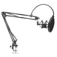 Mikrofon Scissor Arm Stehen Bm800 Halter Stativ Mikrofon Stehen Mit EINE Spinne Cantilever Halterung Universal Shock Mount