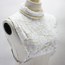 Dickie Lace Shirt women Decoration Stand Lead Sweet match False Collar detachable New Free shipping Necklace(China)