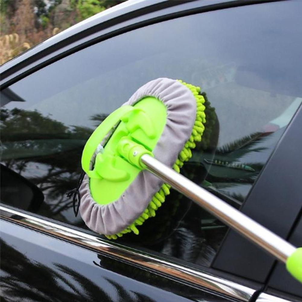 Car Wash Cleaning Brush Microfiber Telescoping Car Tool Care Dust Mop Cleaning Body Auto Dirt Wash Detailing Duster Brush J0X0