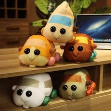18CM New Cute Felt Poke Guinea Pig Trolley Hamster Handmade Diy Material Bag Dolls Surrounding Children Birthday Gifts