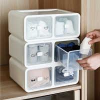 1 grid / 12 grid / 16 grid underwear storage box bra socks underwear storage box plastic PP home drawer household storage tools