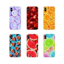 Fundas para teléfono móvil fresa naranja sandía uva limón para Xiaomi Redmi 4A S2 Note 3 3S 4X4 5 6 7 6A Pro teléfono móvil F1