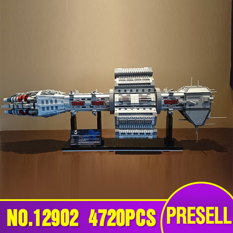 Star Toys Wars The MOC 12902 EAS Agamemnon Model Compatible With Legoing Building Blocks Bricks Assembly Kids Christmas Gifts