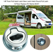 Aluminium Alloy Loker Lubang Palka Perahu Latch Laut Kunci Flush Handle(China)