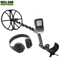 Gold Hunter T90 Full waterproof underground gold metal detector with wireless headphones and 12 Search Coil