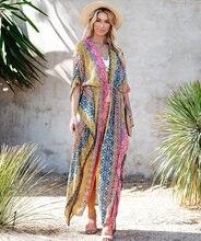 Женское пляжное платье с v образным вырезом