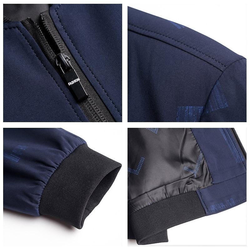 UCAK Brand Jacket Men 2020 Fashion Style Zipper Chaquetas Hombre Spring Autumb New Arrival Jackets Free Shipping Clothes U8039