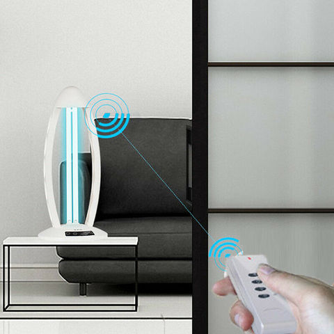 controle remoto esterilizacao uv luzes para casa sala estar do carro quarto