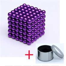 цена на 216pcs 3mm Free Combination Magnetic Neo Magic Cube Ball, Puzzle Cube Balling with Gift Box, Funny Game Pressure Relief Toys