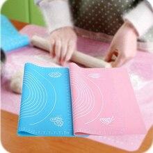 Household Reusable Baking Table Kneading Dough Mat Non-stick Durable Large Non-slip Silicone Safe  Kitchen Accessories