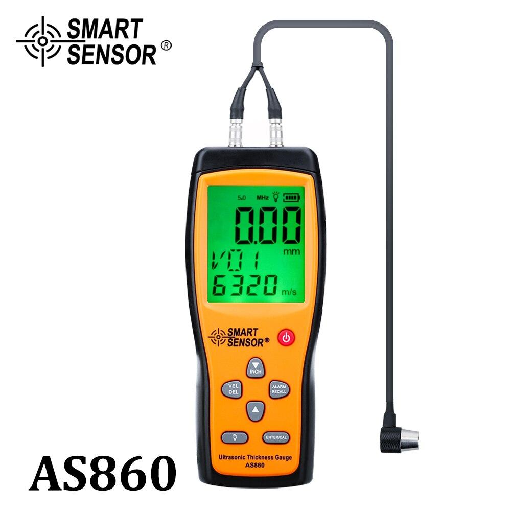 Aletler'ten Genişlik Ölçme Cihazları'de Dijital profesyonel ultrasonik kalınlık ölçer otomatik kalibre kalınlığı ölçüm cihazı yüksek hassasiyetli kalınlık test cihazı title=